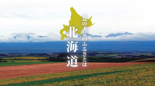 北の大豆のふるさとは北海道